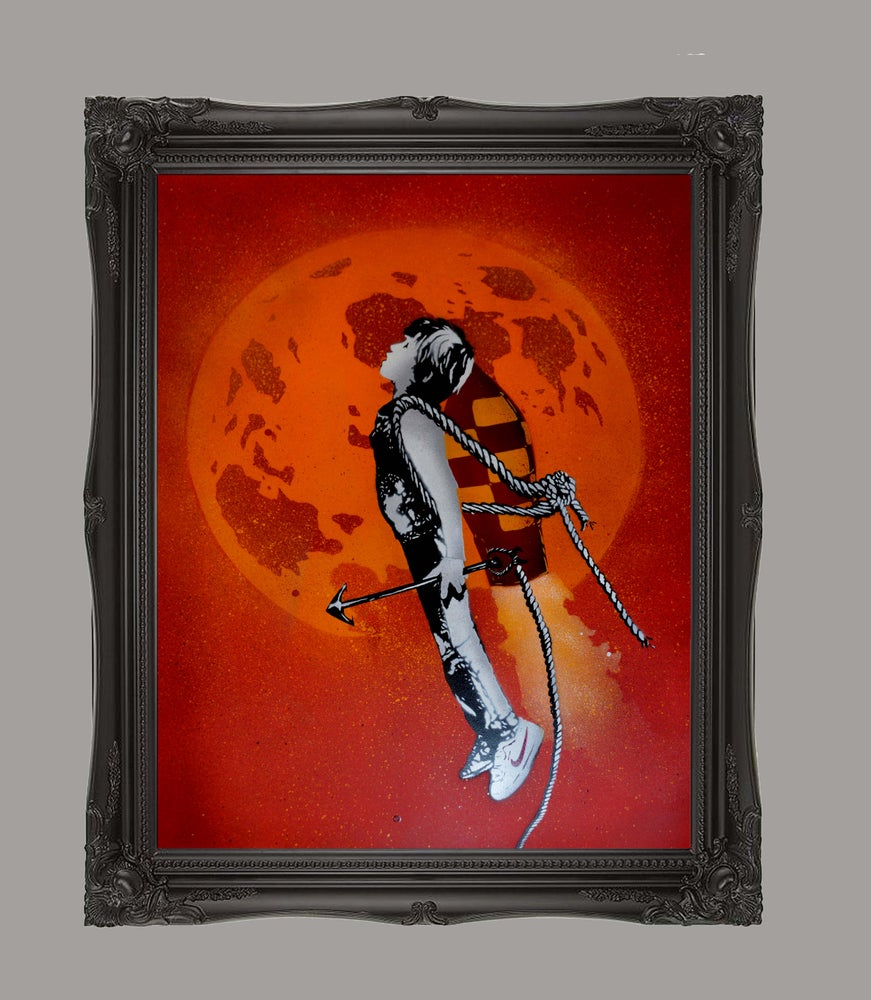 """Image of """"Shoot the Moon"""" - Red"""