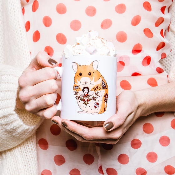 Image of Tattoo Hamster Mug