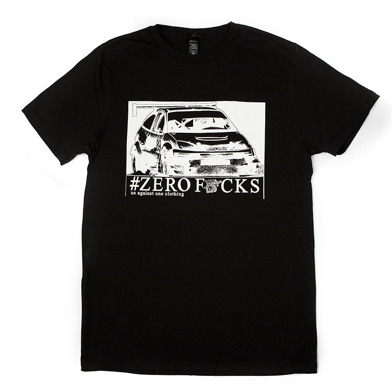 Image of Us Against One Clothing Zerofucks Racing Shirt
