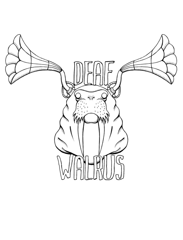 Image of Mr Mead Deaf Walrus T-Shirt