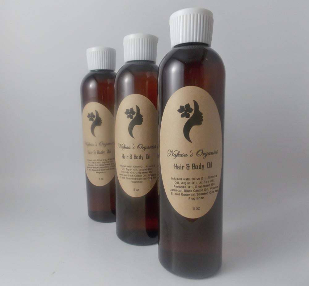 Image of Hair and Body Oil