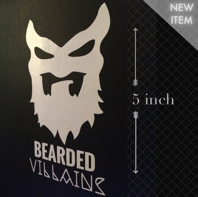 Image of Villain Mask Sticker