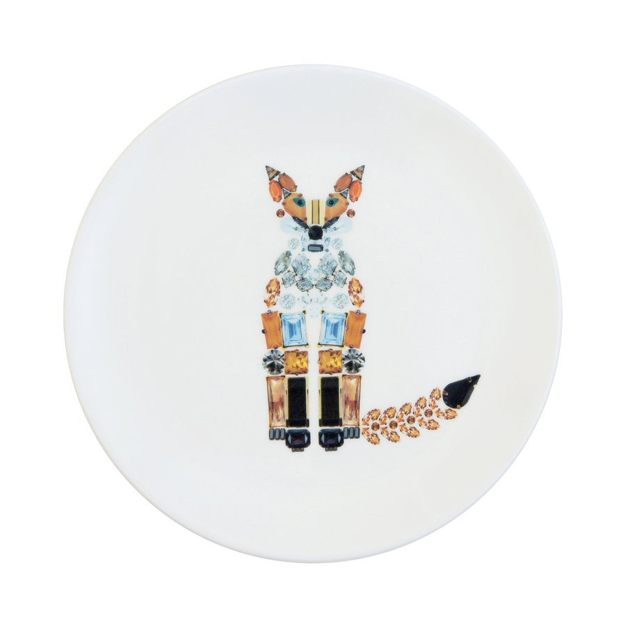 Image of FOX Fine Bone China Plate (Medium)