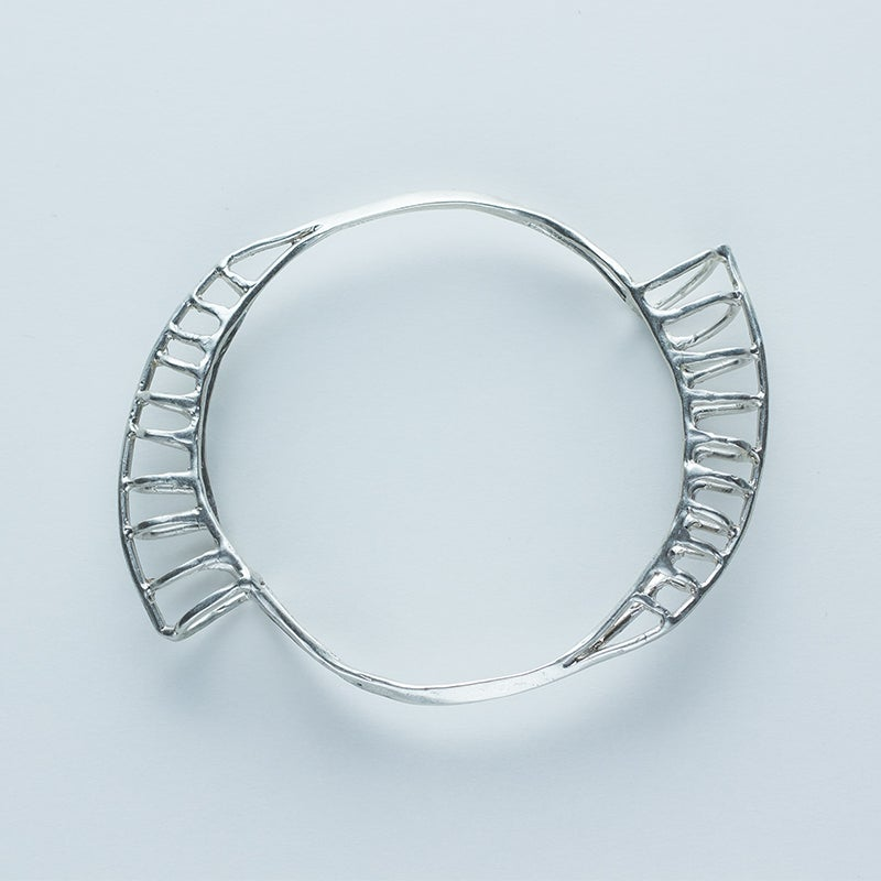 Image of Better Late Than Never Nautilus Bangle