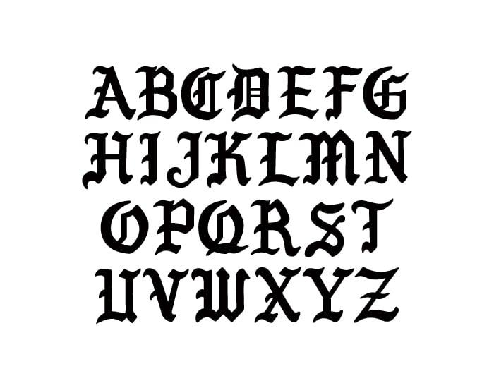Image of Nemek Gothic Font