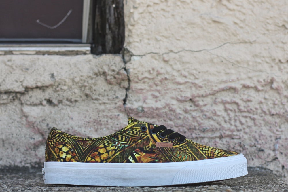 Image of VANS AUThentic CA Mirror Image TAN
