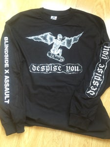 Image of black - BLINDSIDE ASSAULT LONGSLEEVE