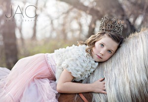 "Image of Glam ""Paris"" Crown - Vintage Shabby Chic Style - Baby to Adult - $38 OFF!"