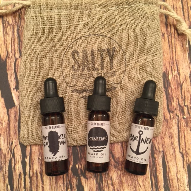 Image of 3 Pc Beard Oil Travel Set