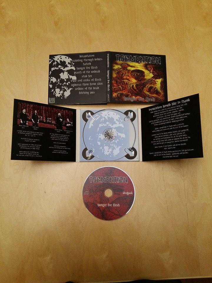 Image of Tormention - Hunger For Flesh [CD]