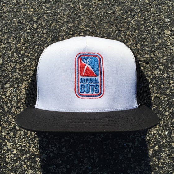 Image of Official Cuts Trucker Cap - Black/White