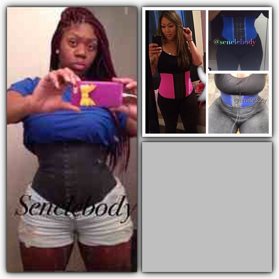 Image of WHAT WAIST BUNDLE2: 2HOOK Latex Waist Trainer & 2HOOK Work Out Cincher