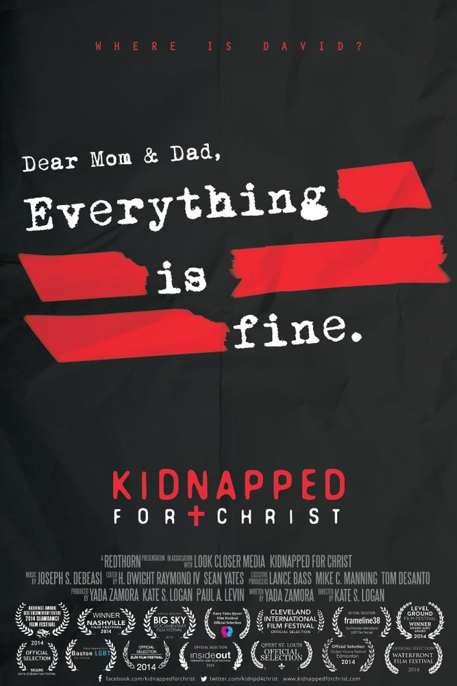 Image of Kidnapped For Christ DVD