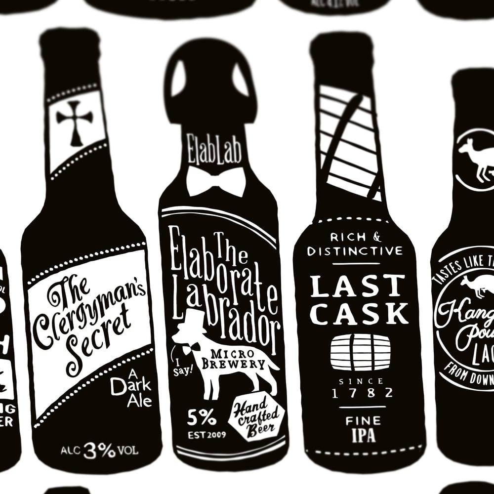 Image of 99 Bottles (White, 2015)