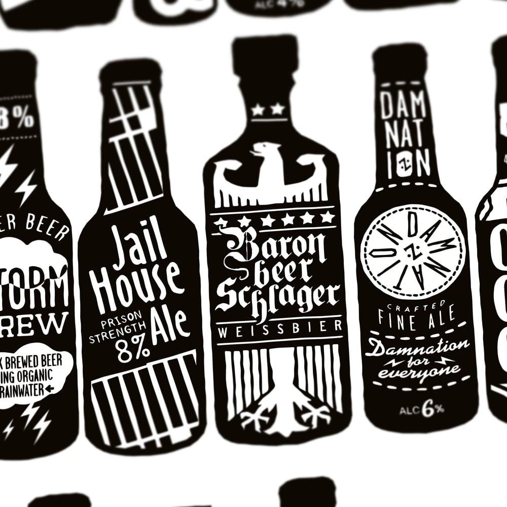 Image Of 99 Bottles White 2015