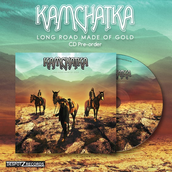 Image of Kamchatka - Long Road Made Of Gold (CD)