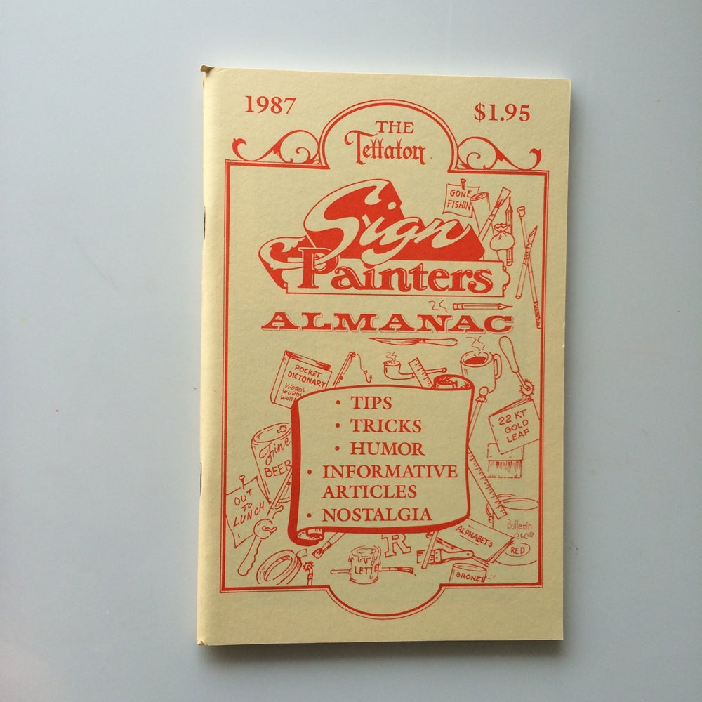 Image of Sign Painters Almanac 1987
