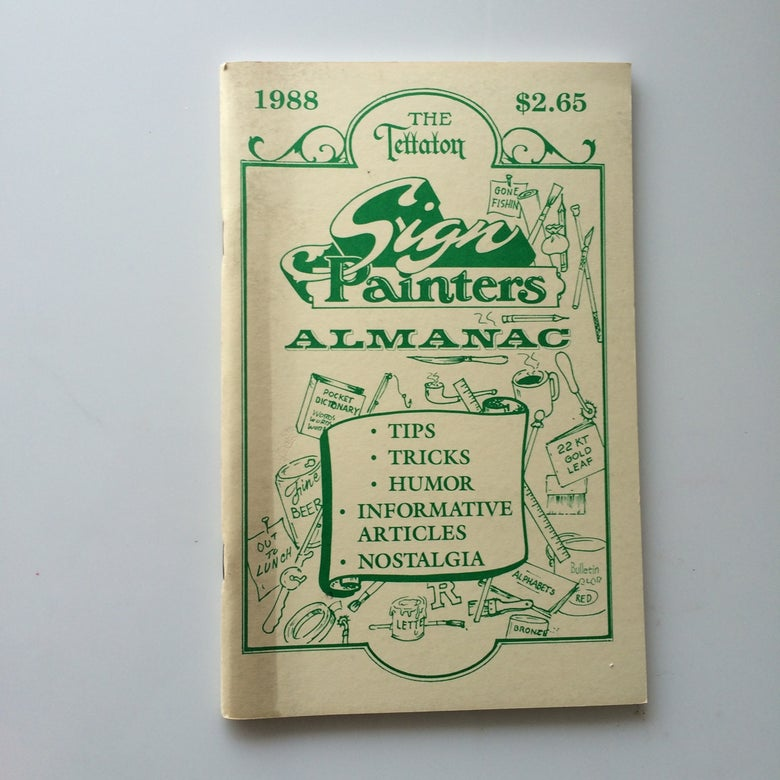 Image of Sign Painters Almanac 1988