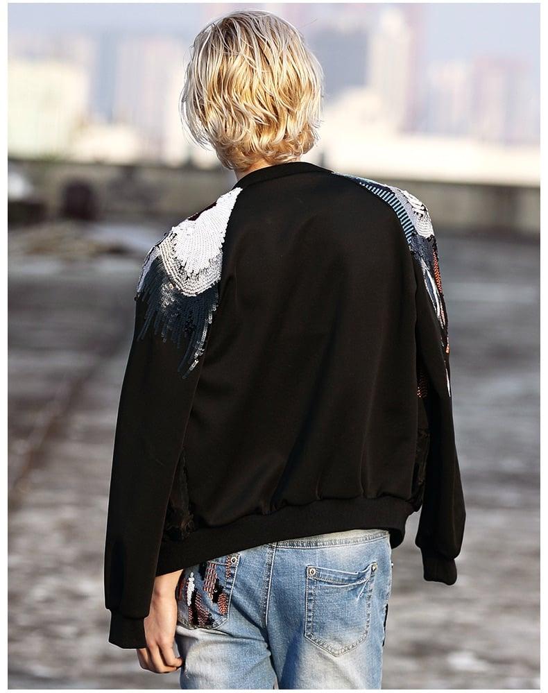 Image of Rachel Sequined Jacket