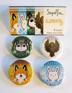 Image of Elemental Pin Set