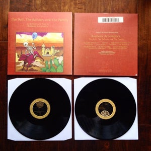 Image of Reubens Accomplice 'The Bull, The Ballon, and The Family' 2XLP (CLASSIC BLACK)