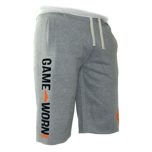 Image of GAME-WORN Tracky Cut Off Shorts - Philadelphia Grey