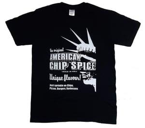 Image of Hull Loves Chip Spice Black Unisex T-Shirt