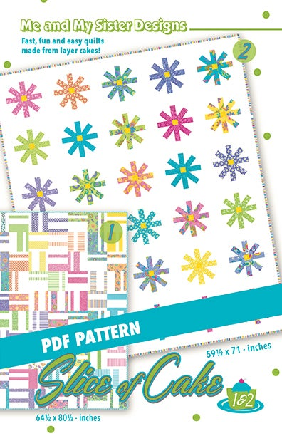 Image of Slice of Cake 1 & 2 PDF pattern