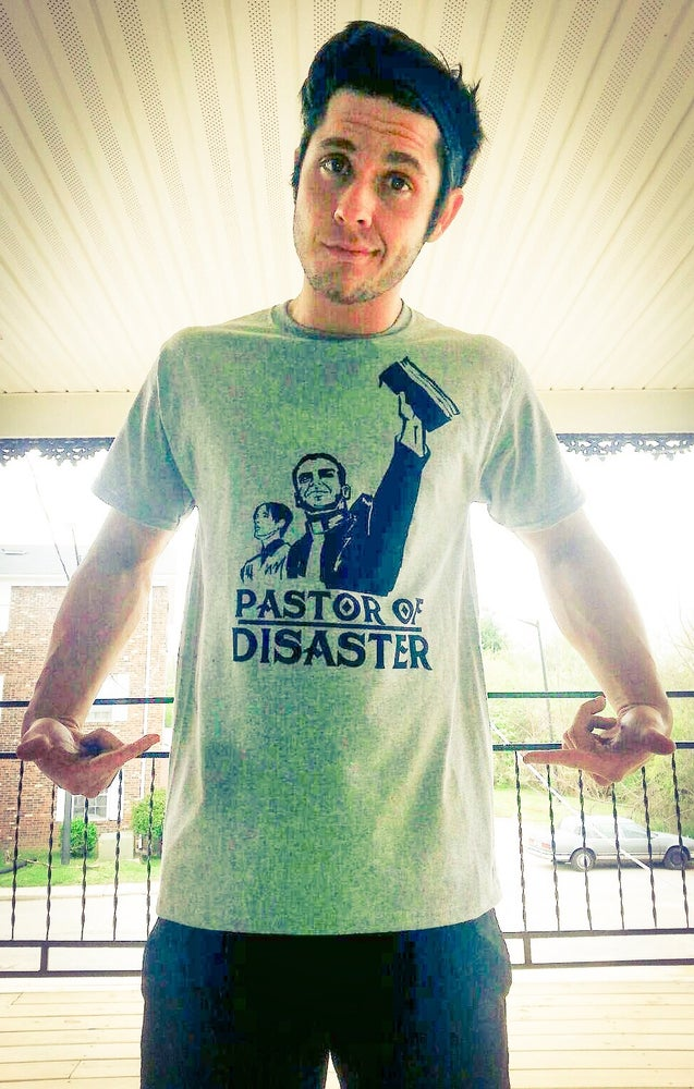Image of Official Pastor of Disaster Graphic Tee