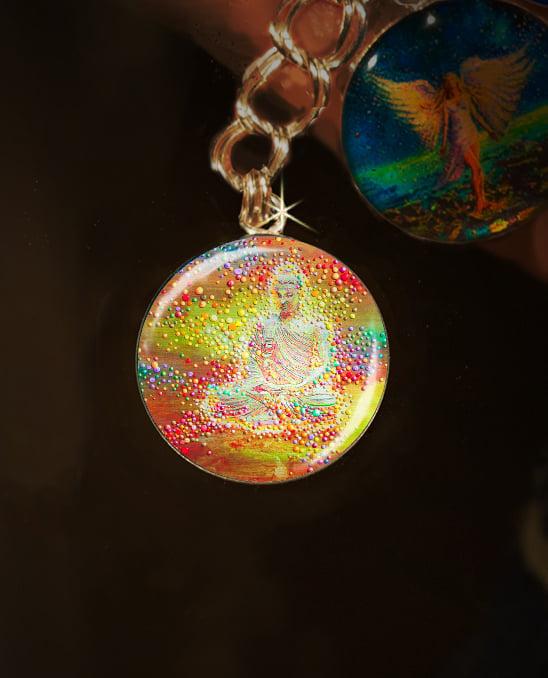 Image of Buddha's Light Metaphysical Energy Charm