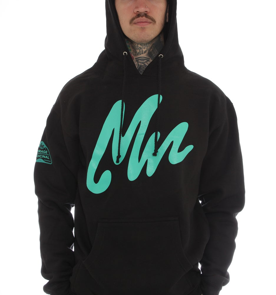 Image of Mirage Hoodie Black