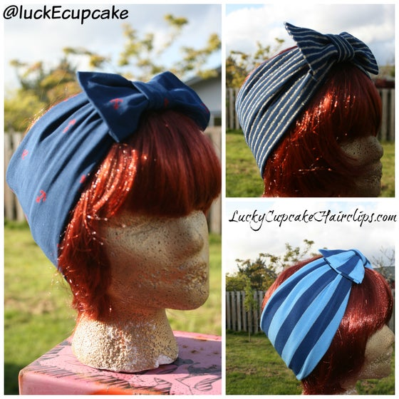 Image of ⚓️Nautical Turban Collection⚓️