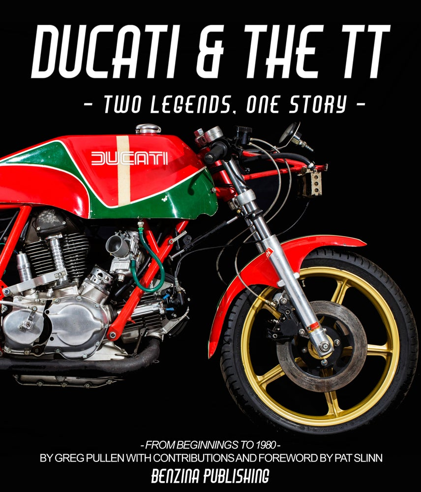 Image of Ducati & the TT - two legends, one story - FREE UK SHIPPING
