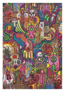 Image of 'The Ankh' - A3 Giclée Print