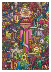 Image of 'The Watcher' - A3 Giclée Print