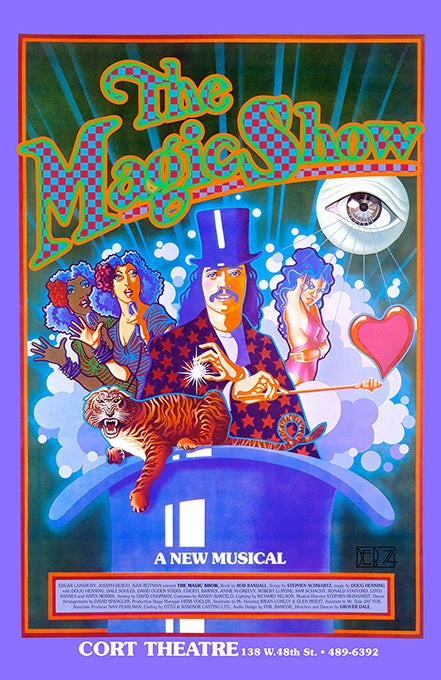 Image of THE MAGIC SHOW 1974
