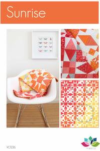 Image of Sunrise Quilt Pattern-PDF