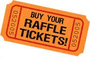 Image of 13th Anniversary Party Raffle Tickets.