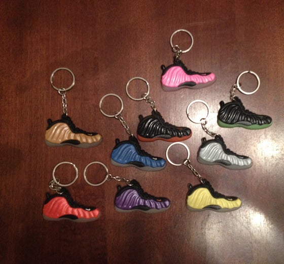 Image of Sneaker Keychains Foams/Lebrons/Yeezy