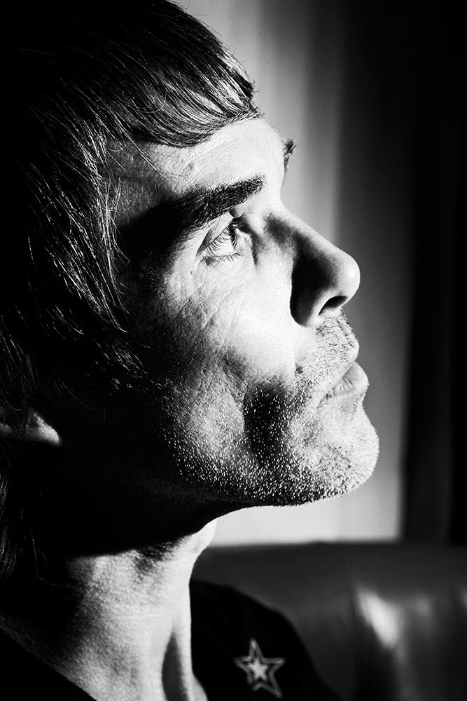Image of Ian Brown Portrait - Stone Roses (Edition Print).