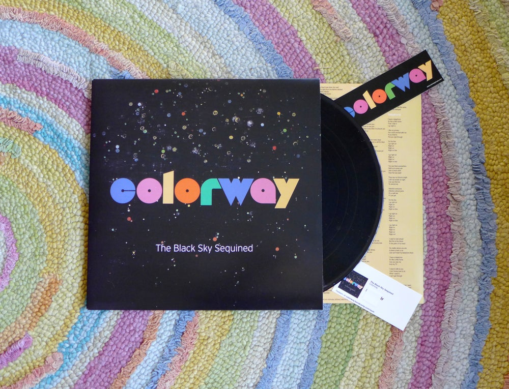 Image of The Black Sky Sequined 180 gram Heavyweight Vinyl