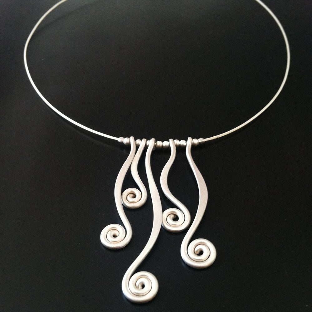 Image of Fiddlehead Patch Necklace