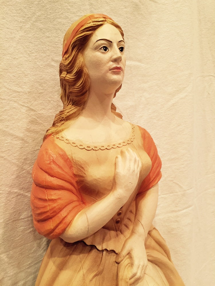 Image of Large Beautiful Young Maiden Ships Figurehead Nautical Decor