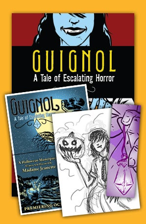 Image of GUIGNOL – DELUXE SKETCH + POSTER BUNDLE