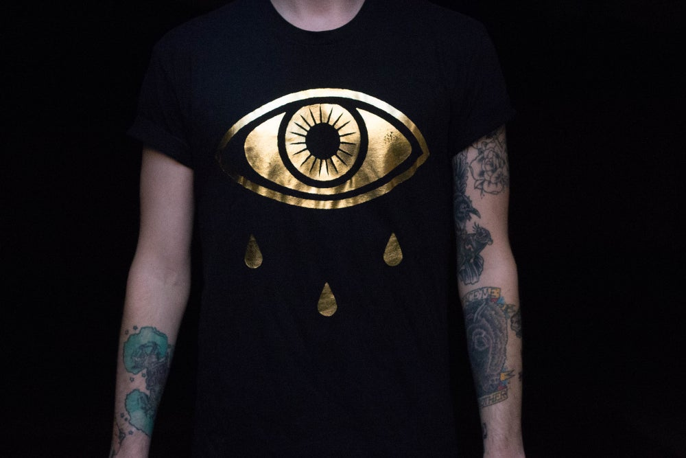 Image of Young Blood - Gold Foil Eye