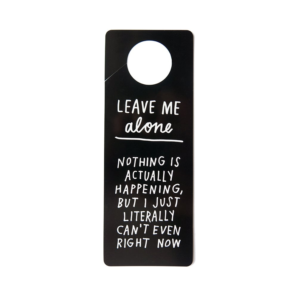 Free Printable: Door Hanger | ADAMJK GIFT SHOP