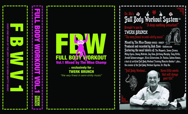 "Image of Miso Champ ""Full Body Workout Vol.1"" Cassette"