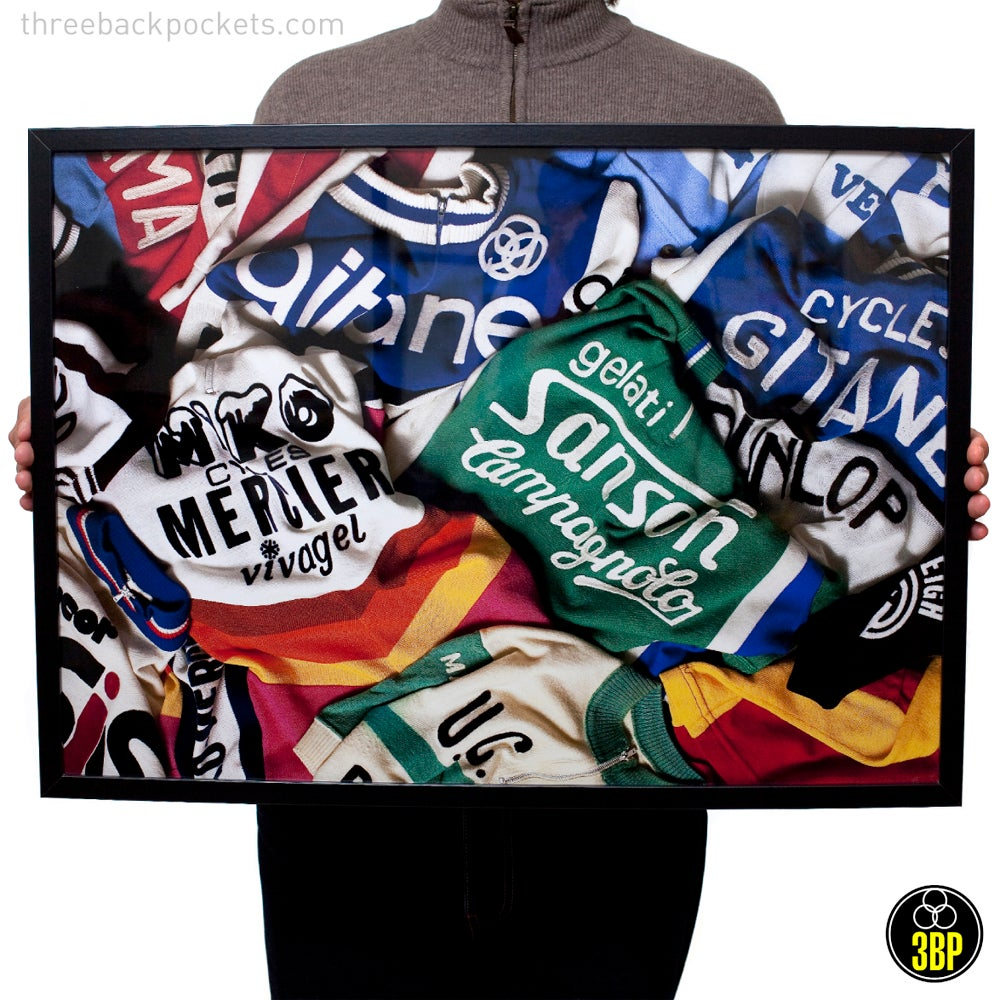 Image of Jersey mix poster print