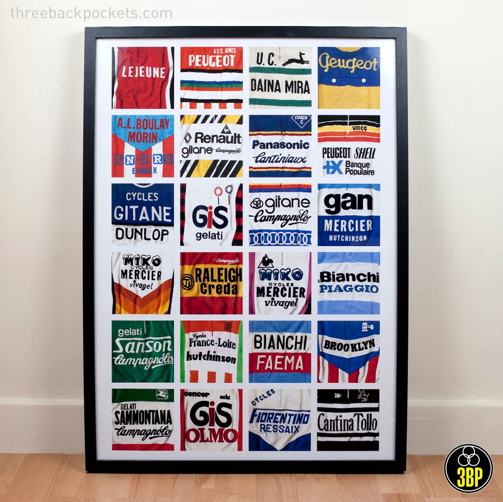 Image of Jersey details poster print