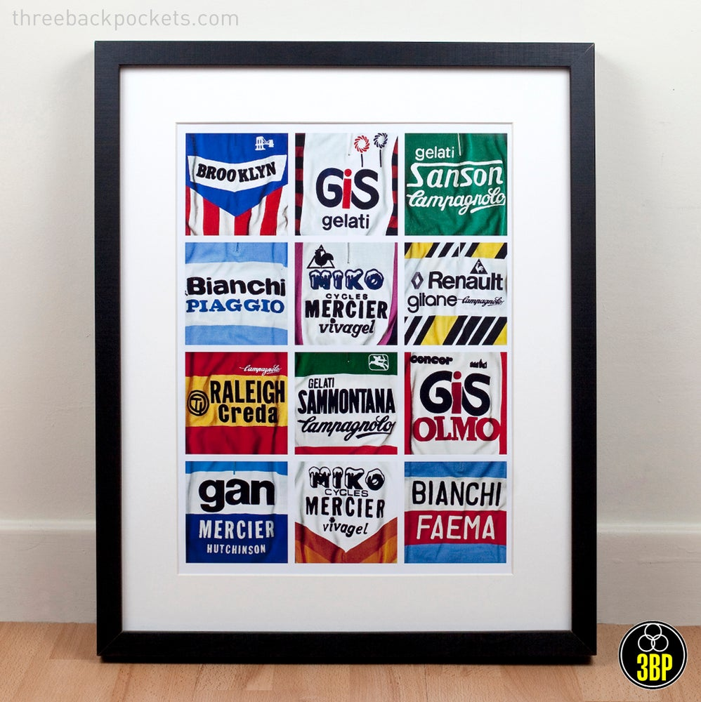 Image of Iconic jersey details print